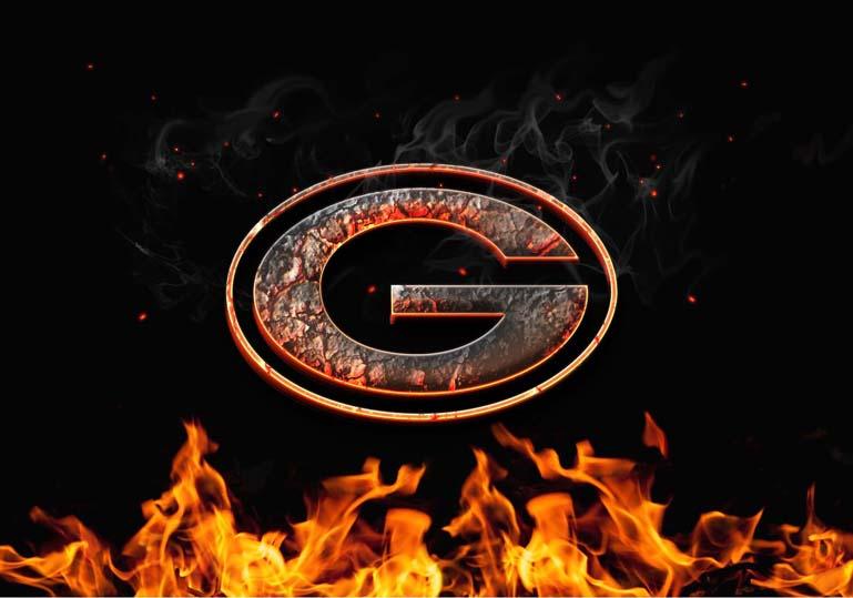 green bay packers burn fire logo