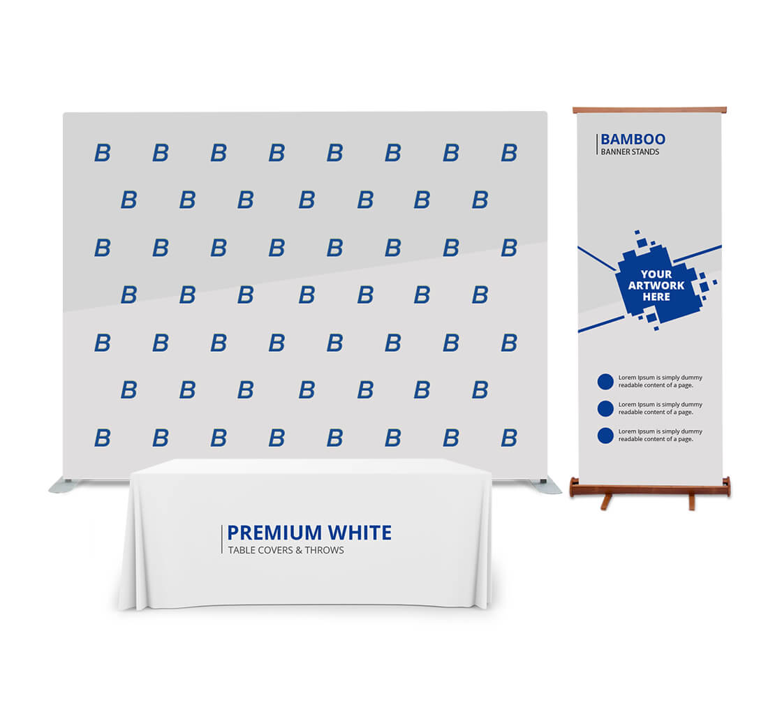 10x8 backdrop display package
