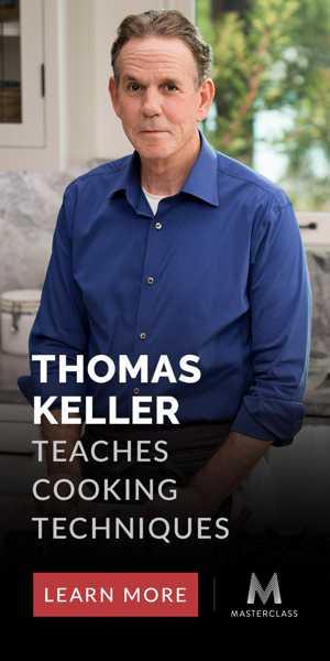 MasterClass Thomas Keller